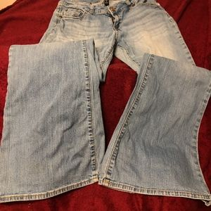 GAP Premium flair jeans size 10/30R or junior 9-10
